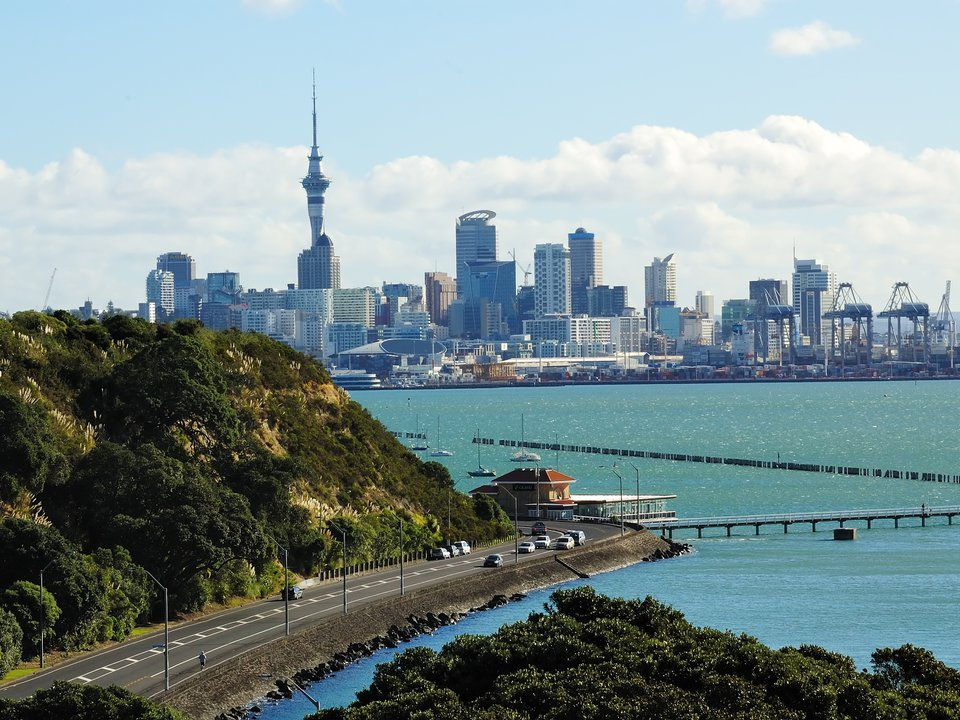 New Zealand hotel search on booking