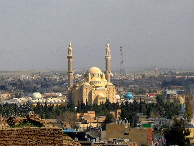 Iraq hotel search on booking
