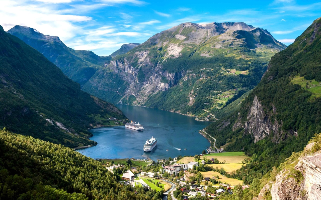 Norway hotel search on booking
