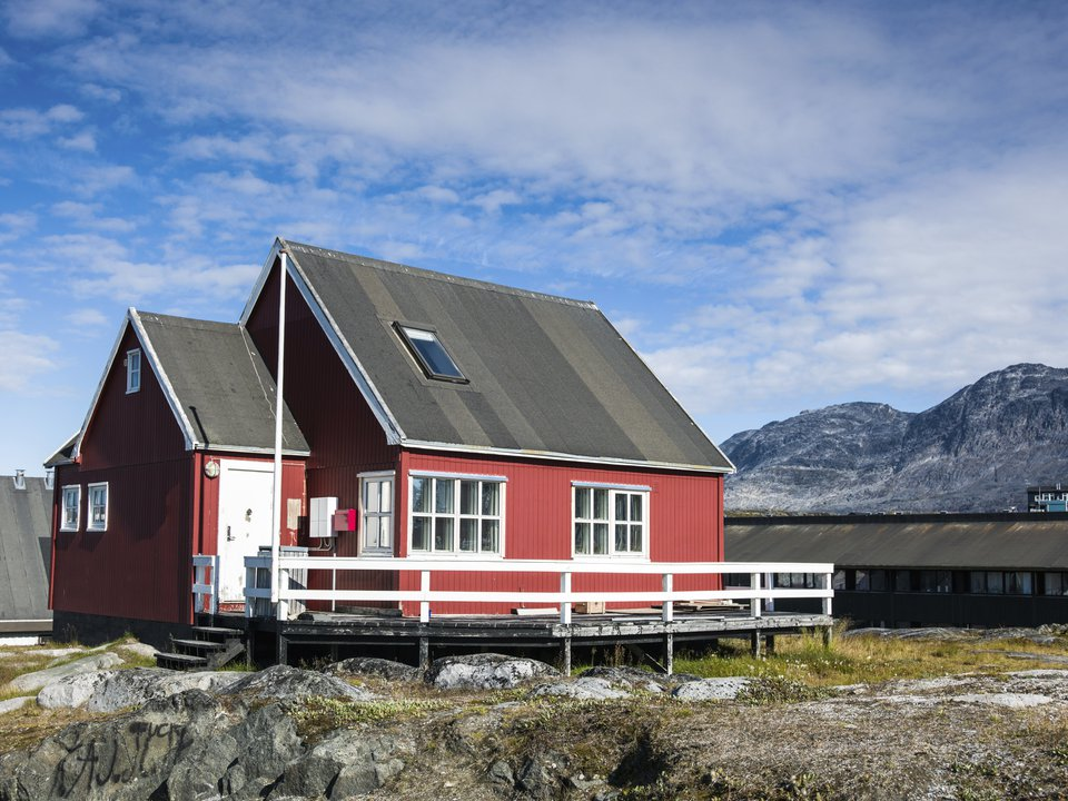 Greenland hotel search on site