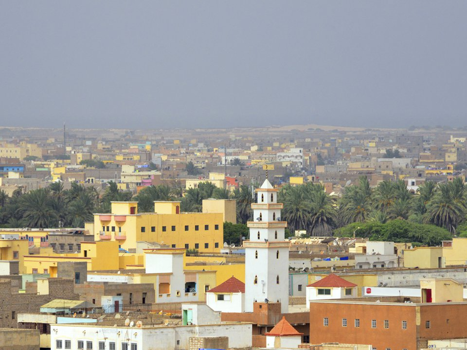 Mauritania hotel search on site