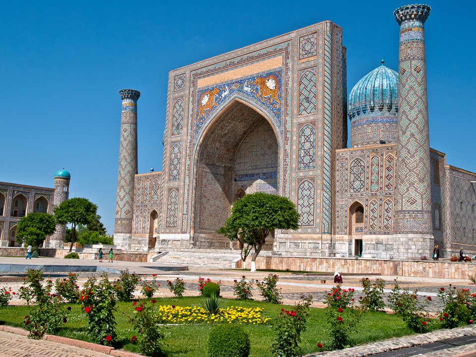 Uzbekistan hotel search on booking