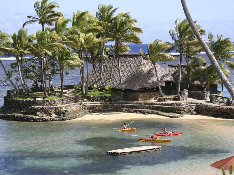 Fiji hotel search on booking