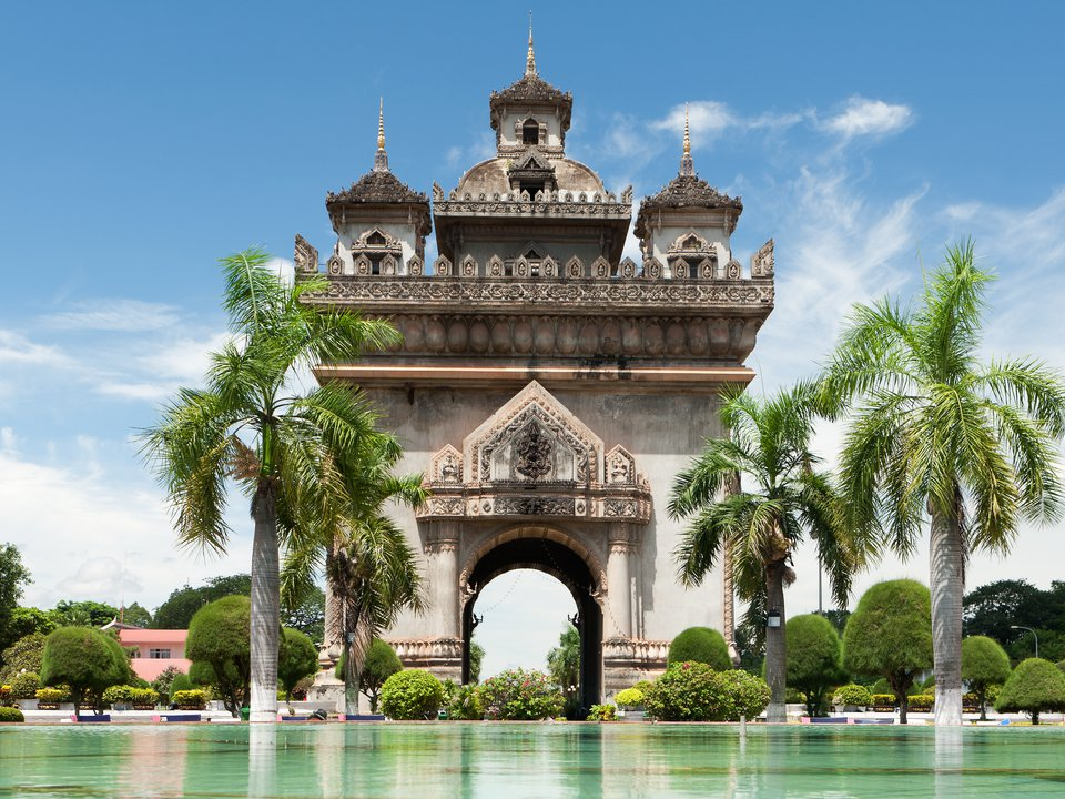 Laos hotel search on booking